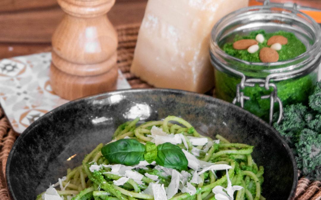 Pesto d'hiver au chou kale